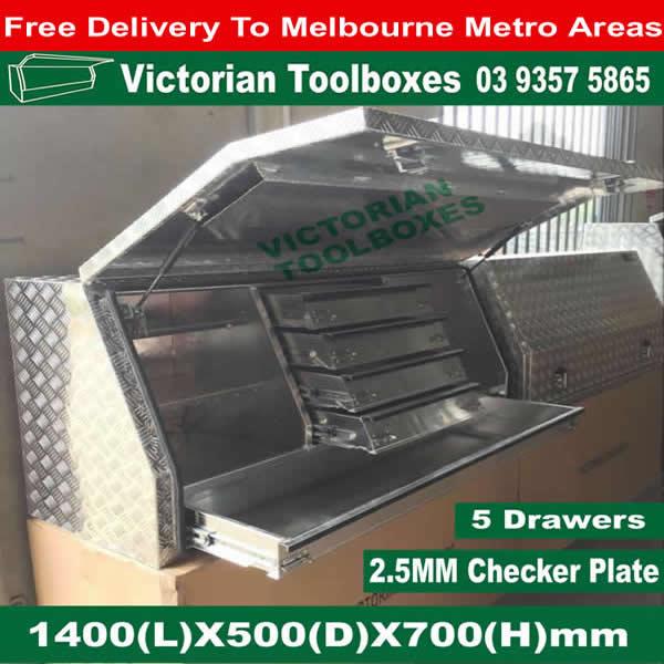 Aluminium Tool Boxes Full Door Truck Ute Tool Boxes Tool