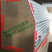 Victorian Toolboxes – Melvourne tool box, aluminium tool boxes, ute tool boxes-尺寸图