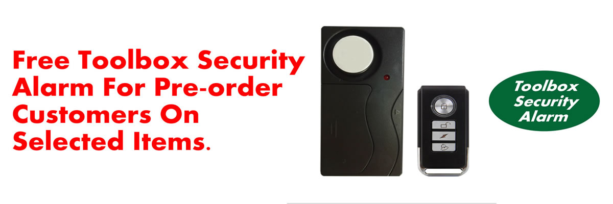 Toolbox Security Alarm