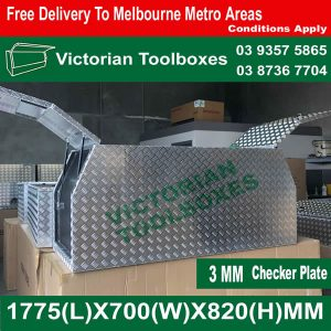 Victorian Toolboxes- aluminium tool boxes, ute tool boxes